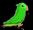 Cocorita verde ##STADE## - manto 1340000003