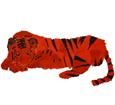 Tigre ##STADE## - manto 16019